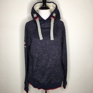 New Superdry Mountain Womens Storm Hoodie Large